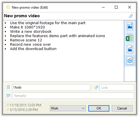 Opening file attachments in CintaNotes